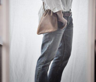 pick up item : 巾着ポシェット
