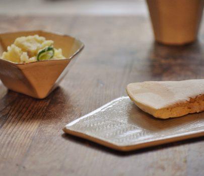 お料理を盛って|青木郁美さんの六角プレート