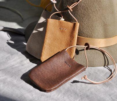 革のPASMO&Suicaホルダーにdark brownが登場です。