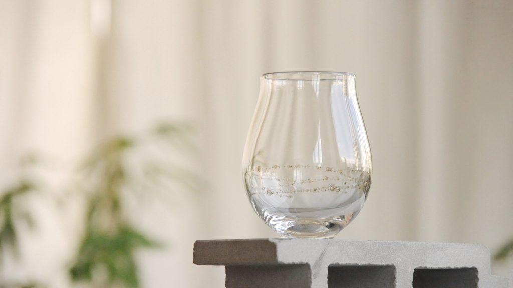 本日発売開始!曽田伸子さんの真鍮泡グラス