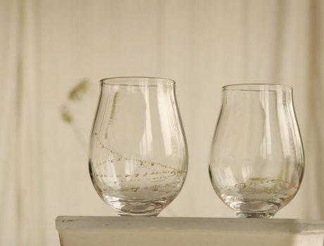 曽田伸子さんのグラス