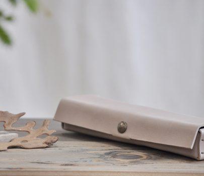 革の筆箱S